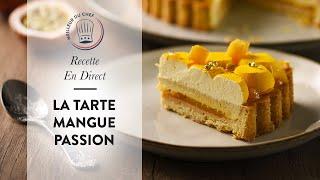 Recette en direct : la Tarte Mangue Passion ! ☀️