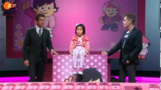 Thần đồng toán học Lina Mai Nguyễn, 7 tuổi tai Gelsenkirchen Đức-Quoc