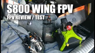 Wing FPV - Reptile S800 SKY SHADOW - Review et Flight Test