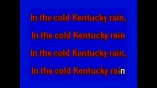 """""""Cold Kentucky Rain"""", Cover of Elvis song by Charlie Bradshaw"""