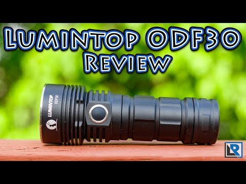 Lumintop ODF30 Flashlight Review (Coupon below) (26650 Flood, 3500 Lumens)