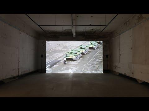 「犬儒共和國:1989」空總展出現場