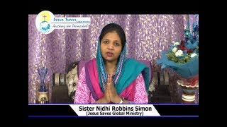 Rich Family In Lord | Sis. Nidhi Robbins Simon | Prayer Time | Shubhsandeshtv