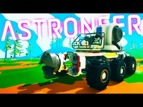 Building the Nuclear Powered Destruction Device in Astroneer