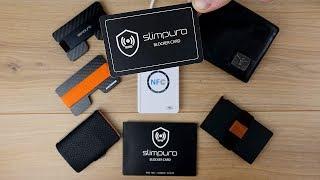 Genial! RFID Schutz bei Slim Wallet & Portmonee NACHRÜSTEN! -  Slimpuro RFID Blocker Card (DEUTSCH)
