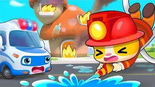 Rookie Firefighter TIMI   Firefighter Song, Fire Truck   Kids Songs   Kids Cartoon   BabyBus