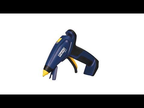 Pistol de lipit Rapid BGX7 cordless, batoane silicon 7mm, timp incalzire 20 secunde, debit 150 g/ora, incarcator micro-USB inclus, 5001401