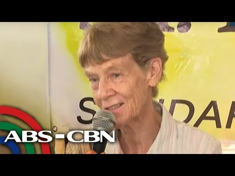 [ABS-CBN] WATCH: Australian nun Patricia Fox, lawyers, supporters talk to reporters | 24 May 2018
