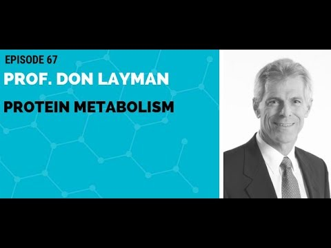 Professor Don Layman: Protein Metabolism