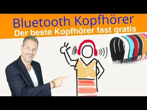 Bluetooth Kopfhörer 🔴  Fast geschenkt ✅   Kabelloser Funk-Kopfhörer 💢  Test 2018