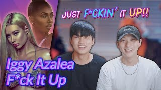 K Pop Artist Reaction] Iggy Azalea   F*ck It Up Ft. Kash Doll