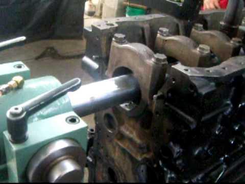 barrenado de motor FE6 - RECTIFICADO Y MECANIZADO ASTETE