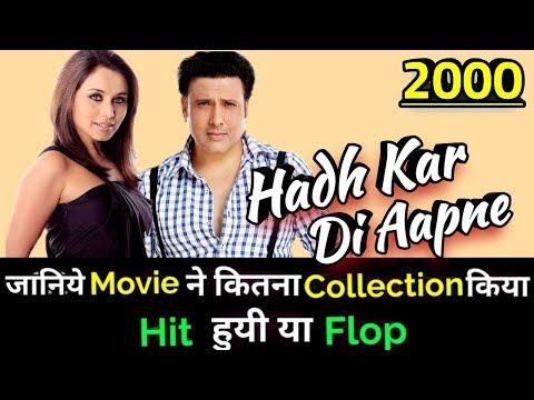 Download Hadh Kar Di Aapne 2000 Mp4 & 3gp | NetNaija