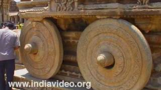 The Stone Chariot of Vittala at Hampi