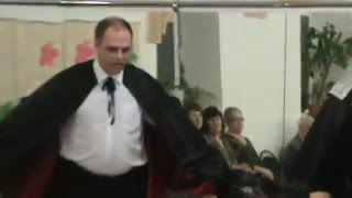 Неожиданное происшествие во время репетиции в оперном театре