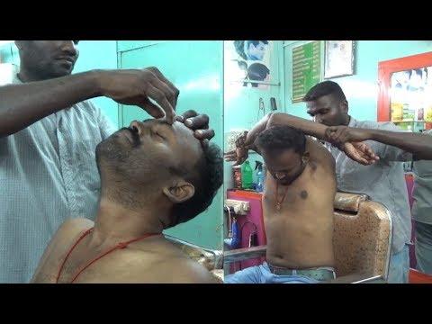 World's Greatest Head Massage CS ASMR Barber meets BABA The Cosmic Barber,,
