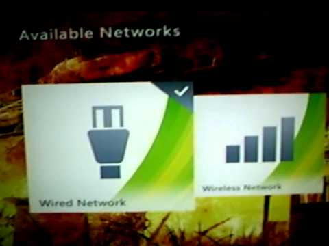 How to set up an Xbox Live connection manually