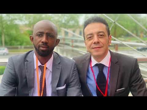 Amadou Diawara du groupe FAMIB GROUPE au micro de Soemy Ayoung-Nougay pour NougayTV MediaWeb