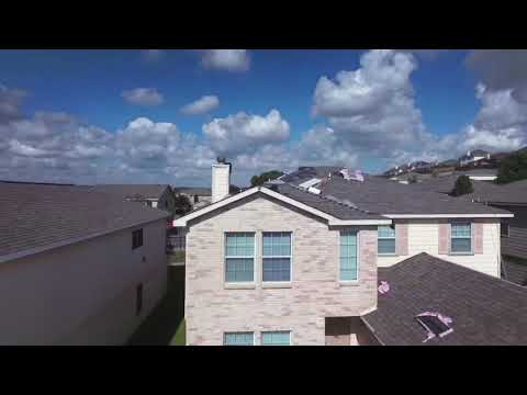 This is a video of five back to back Roofs we installed in the neighborhood in San Antonio Texas