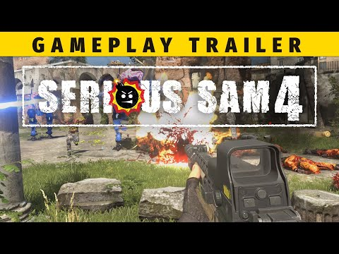 Gameplay Trailer de Serious Sam 4: Planet Badass