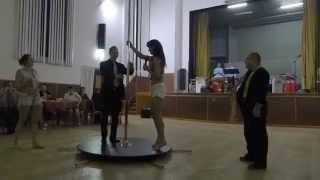 preview picture of video 'Hasičský ples 2015 - Soutěž v Pole dance'