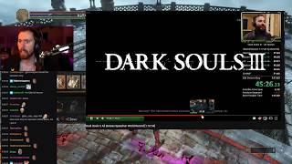 Asmongold Watches Dark Souls 3 All Bosses Speedrun World Record [1:16:54] by COLTrane45