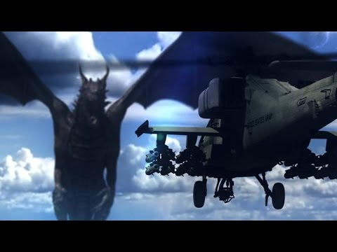 Who Would Win In A Fight Between A Dragon And An Apache Helicopter?