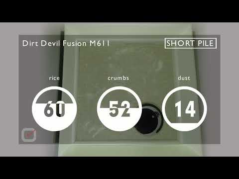 Review and test of the Dirt Devil Fusion M611