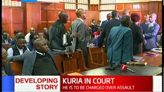 MP Moses Kuria in court to face assault charges
