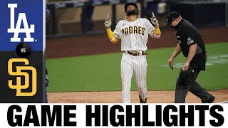 Padres Smash Three Homers Vs. Dodgers | Dodgers-Padres Game Recap 8/3/20