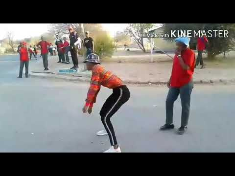 girls street dance off bw [keoleboge jozi dance off bw]