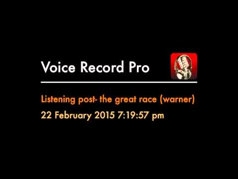 Listening Post- The Great Race (warner)