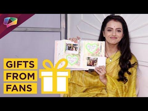 Shrenu Parikh Receives Gifts From Her Fans   Ek Br