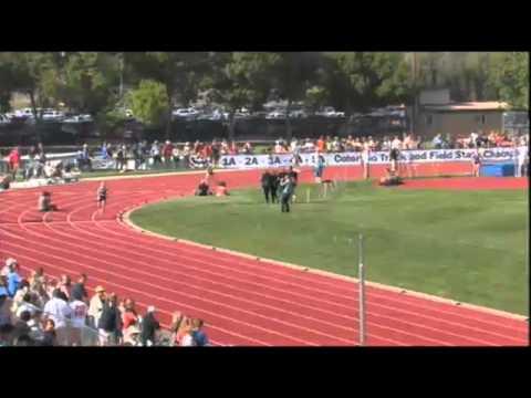 Nederland High School breaks CHSAA Girls 2A 4X800 Meter relay at 2012 track