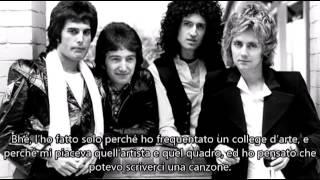 QUEEN AT BBC RADIO 1   1977  IN ITALIANO