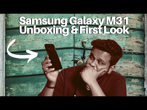 Samsung Galaxy M31 First Impressions and Unboxing
