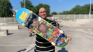 8.25 x 31.8 KEVIN BRAUN 'GREAT OUTDOORS' PRODUCT CHALLENGE w/ ANDREW CANNON   Santa Cruz Skateboards