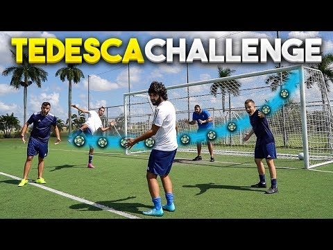 ⚽🥅 TEDESCA FOOTBALL CHALLENGE con gli ELITES!