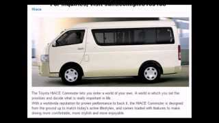 Toyota HIACE Philippines