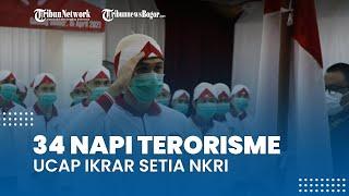 34 Napi Terorisme Ucap Ikrar Setia kepada NKRI di Lapas Narkotika Gunung Sindur Bogor