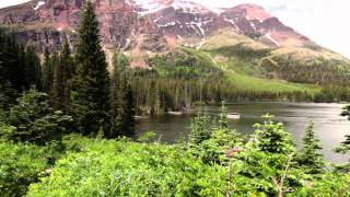 Trip video of Two Medicine Lake and Upper Two Medicine Lake