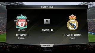 Fifa 18 Liverpool vs Real Madrid Gameplay Xbox One S (HD) PS4