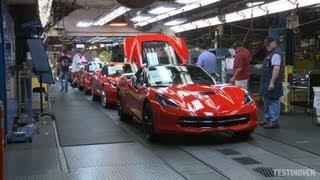 Chevrolet Corvette Stingray Assembly Plant