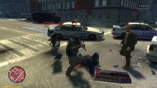 GTA 4 - Niko vs Police