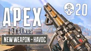 NEW GUN UPDATE!! Havoc Energy Gun Gameplay! (Apex Legends Gameplay)