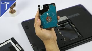 How To Install Hard Disk In Asus E402  Notebook