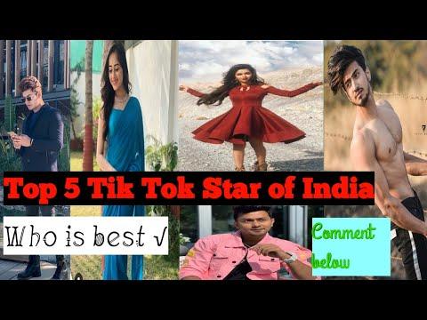 Top 5 tik tok 🌟 of India