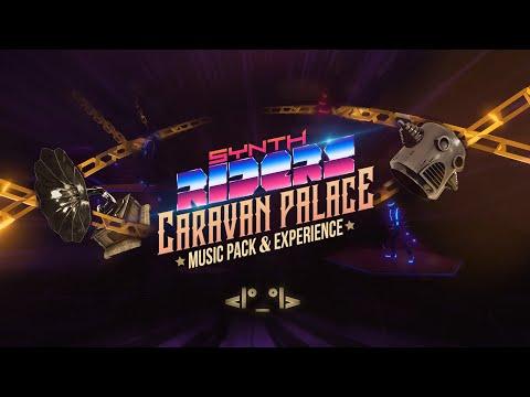 Caravan Palace Music Pack DLC de Synth Riders