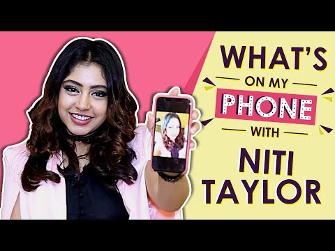 Whats On My Phone With Niti Taylor Official App Launch Exclusive