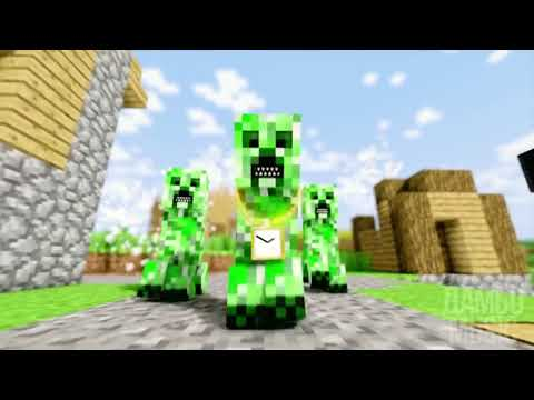 10 ЧАСОВ РЭП КРИПЕРА НА РУССКОМ | RAP OF CREEPER MINECRAFT ANIMATION SONG IN RUSSIAN 10 HOURS